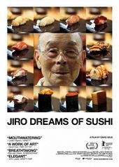 Афиша к фильму Мечты Дзиро о суши (2011)
