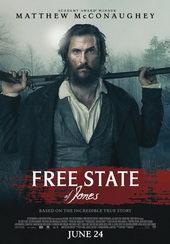 Афиша к фильму Свободный штат Джонса (2016)