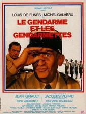Плакат к комедии Жандарм и жандарметки (1982)