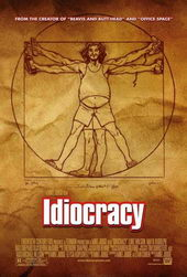 Афиша к фильму Идиократия (2006)