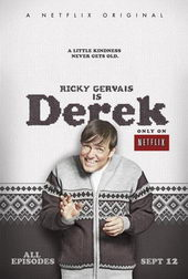 Плакат к сериалу Дерек (2012)