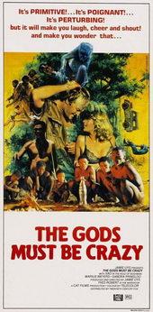 Афиша из фильма Боги, наверное, сошли с ума (1981)