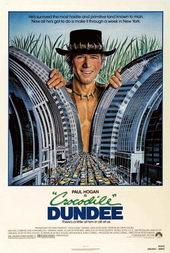 Плакат из комедии Крокодил Данди (1986)