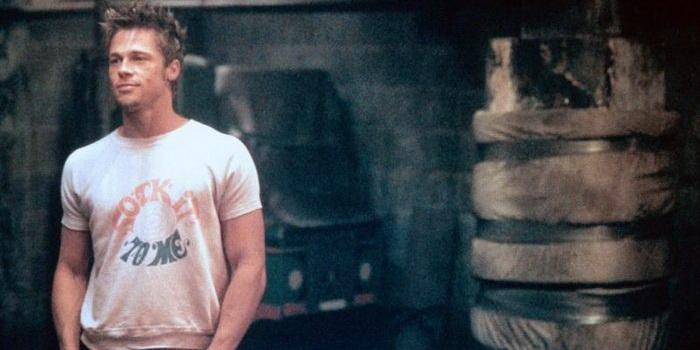 Сцена из фильма Бойцовский клуб (2000)