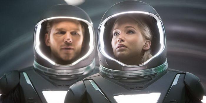 Кадр из фильма Пассажиры (2016)