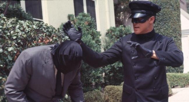 Кадр из фильма Зеленый шершень (1974)