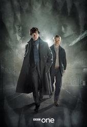 Афиша к сериалу Шерлок (2010)