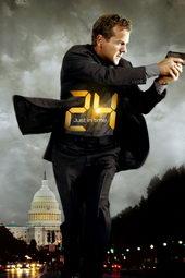 Афиша к сериалу 24 часа (2001)