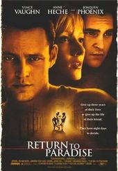Афиша к фильму Возвращение в рай (1998)