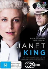 Плакат к сериалу Джанет Кинг(2014)