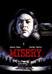 Плакат для фильма Мизери (1990)
