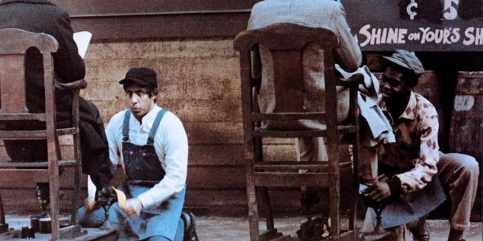 Кадр из фильма Эмигрант (1973)