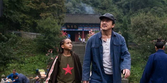Сцена из фильма Каратэ-пацан(2010)