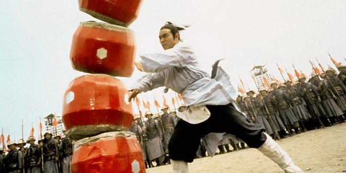 Кадр из фильма Два воина (1993)
