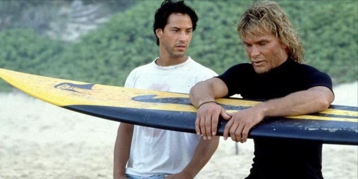 Сцена из фильма На гребне волны (1991)