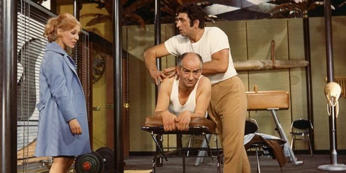 Сцена из фильма Оскар (1967)