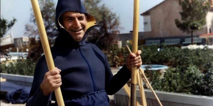 Сцена из фильма Маленький купальщик (1968)