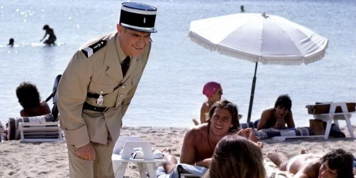 Сцена из фильма Жандарм и инопланетяне (1978)