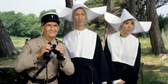 Комедия Жандарм и жандарметки (1982)