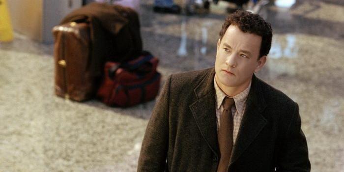 Сцена из фильма Терминал (2004)