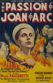 Постер к фильму Страсть Жанны Д'Арк (1928)