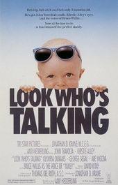 Афиша к комедии Уж кто бы говорил (1989)