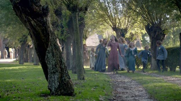 Сцена из сериала Белая королева (2013)