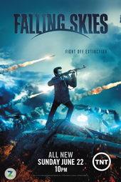 Плакат к сериалу Рухнувшие небеса (2011)