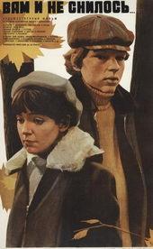 Постер к фильму Вам и не снилось (1981)