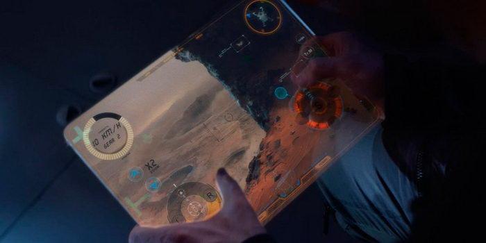 Сцена из фильма Марсианин (2017)