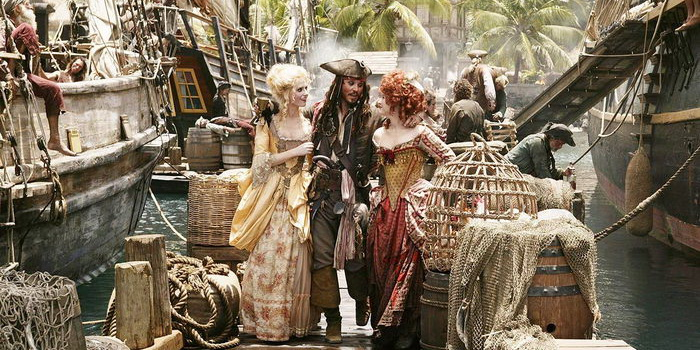 Сцена из фильма Пираты Карибского моря: На краю света (2007)