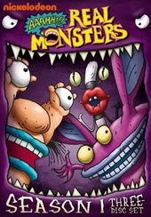 Афиша к мультфильму ААА!!! Настоящие монстры (1994 – 1997)