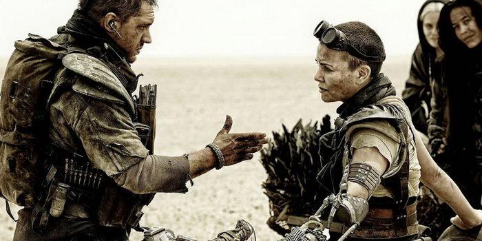 Главные герои из фильма Безумный Макс: Дорога ярости (2015)