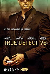 Плакат к сериалу Настоящий детектив (2014)