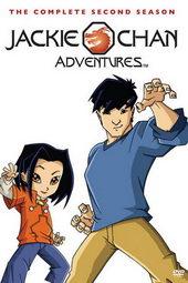 Плакат к мультфильму Приключения Джекки Чана (2000)