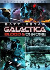 Плакат к сериалу Звездный крейсер Галактика: Кровь и хром (2012)