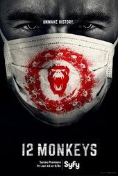 Афиша к сериалу 12 обезьян (2015)