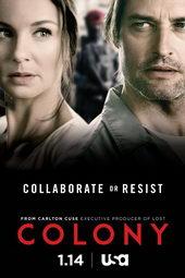 Плакат к сериалу Колония (2016)