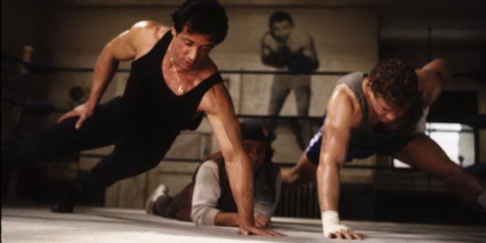 Сцена из фильма Рокки 5 (1990)