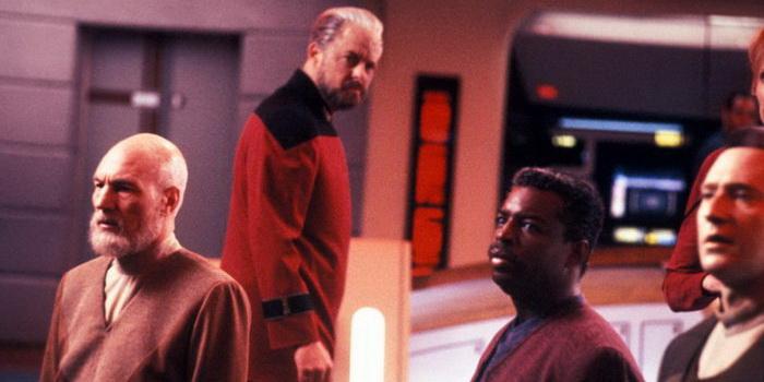 Персонажи из фильма Звездный путь: Следующее поколение (1987)