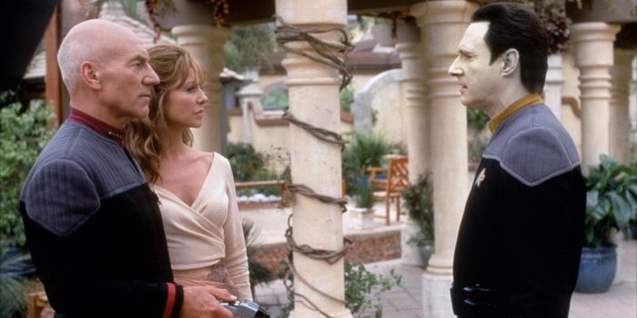 Актеры из фильма Звездный путь 9: Восстание (1998)
