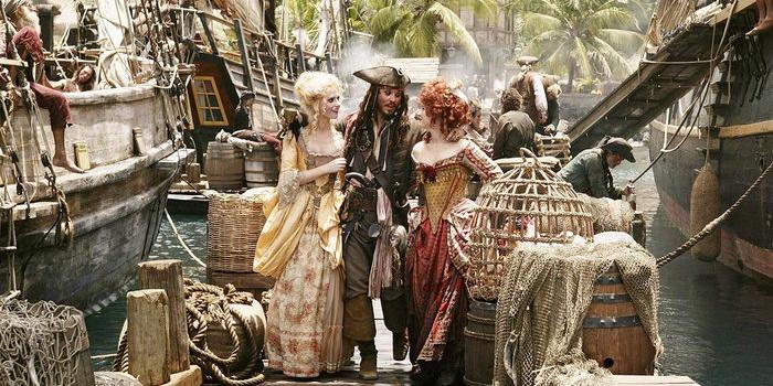 пираты карибского моря хронология фильмов