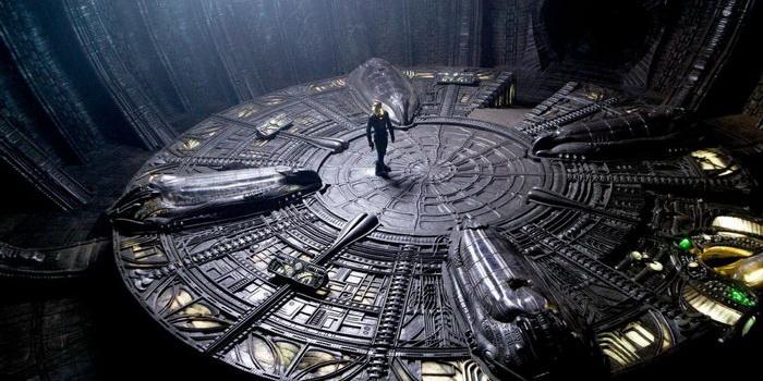 сцена из фильма Прометей (2012)