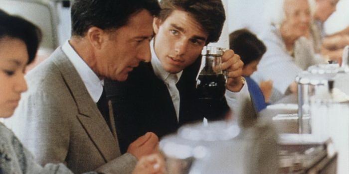 герой из фильма Человек дождя (1988)