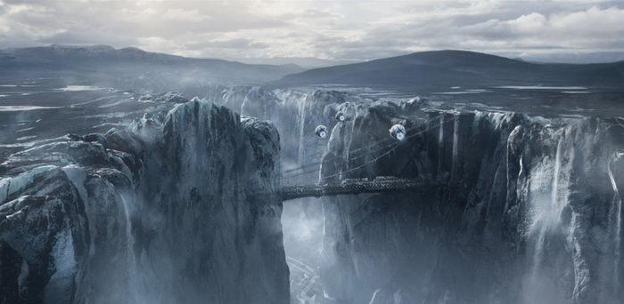 кадр из фильма Обливион (2013)