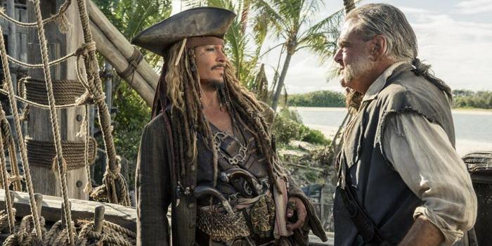 сцена из фильма Пираты Карибского моря: Мертвецы не рассказывают сказки (2017)