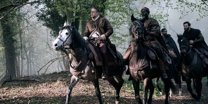герои из фильма Меч короля Артура (2017)