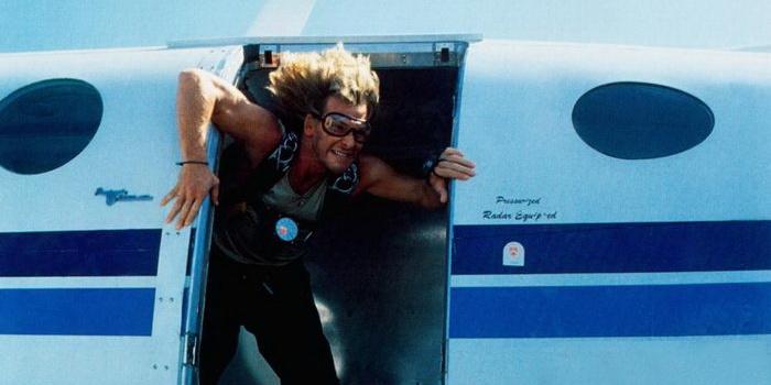 кадр из фильма На гребне волны (1991)