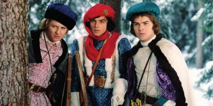 герои из фильма Три орешка для Золушки (1973)