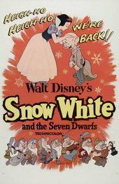 плакат к мультфильму Белоснежка и семь гномов (1937)